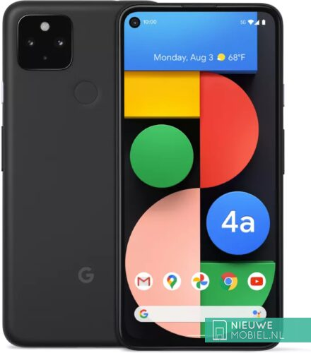Google Pixel 4 5G in Just Black