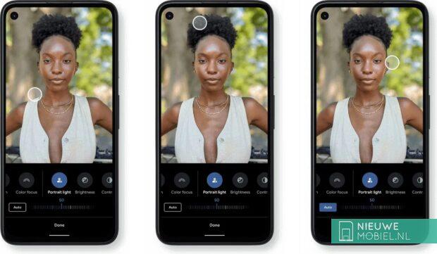 Pixel Portrait Light Mode