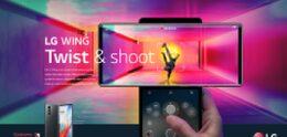 LG Wing met draaibaar scherm komt naar Nederland