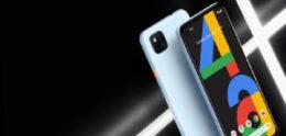 Google Pixel 4a komt straks ook in het blauw