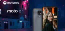 Se anuncia el lanzamiento de la Moto E7 de Motorola de nivel básico con una cámara de