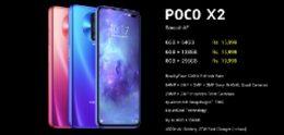 POCO X2 officieel aangekondigd met groot en snel scherm
