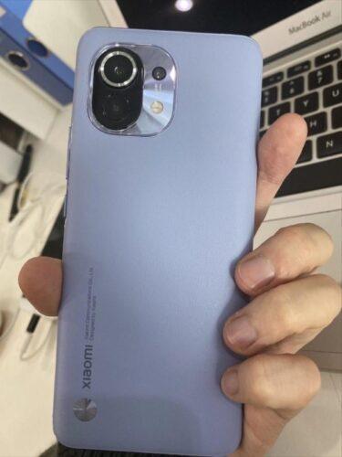 Xiaomi MI 11 with leather case