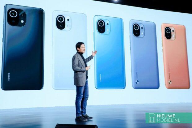 Xiaomi Mi 11 announcement