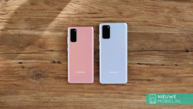 Samsung Galaxy S20 en S20+