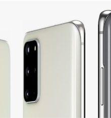 Niet aangekondigd, wel op de Samsung-website: de witte `Cloud White` uitvoering van de Galaxy S20 en S20+