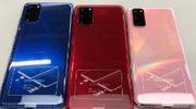 Nu al nieuwe kleuren Samsung Galaxy S20 opgedoken