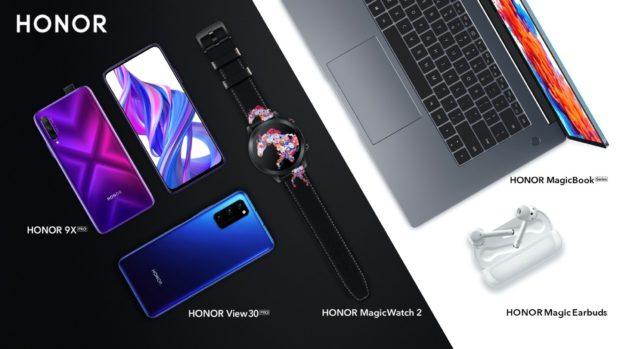 Honor 9X Pro en View 30 Pro