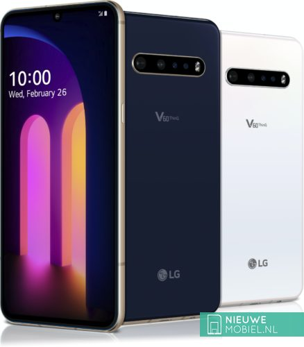 LG V60 ThinQ color overview
