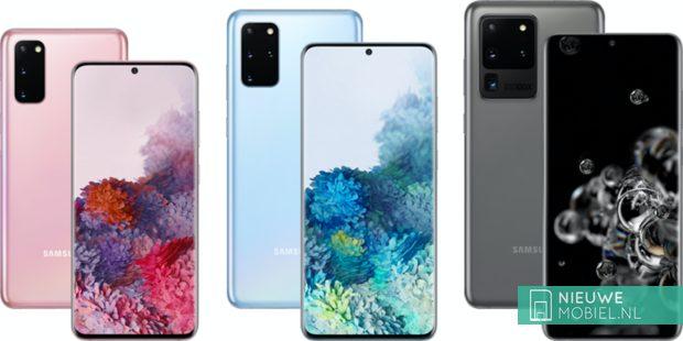 Samsung Galaxy S20 familie