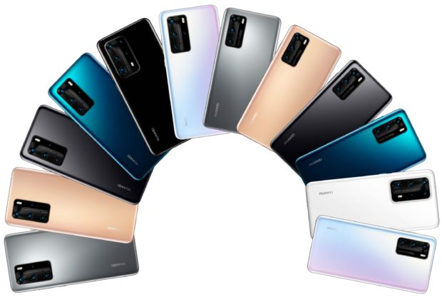 Huawei P40 line-up