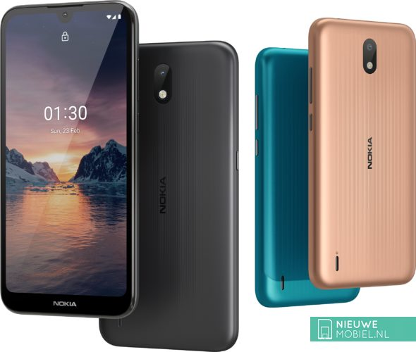 Nokia 1.3 colors