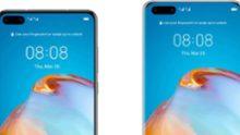 Detalles completos Huawei P40 (Pro) se filtra