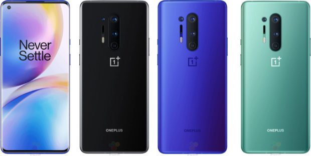 OnePlus 8 Pro color editions