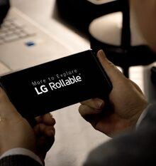 LG mostra immagini di LG Rollable prima del CES21. Un telefono da cui lo schermo può estendere #LG #Rollabile #pieghevole #CES21