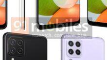 Unangekündigtes Samsung Galaxy A22 zeigt farbenfrohes Design