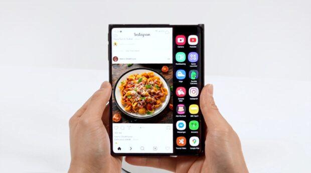 Samsung Slideable OLED display prototype