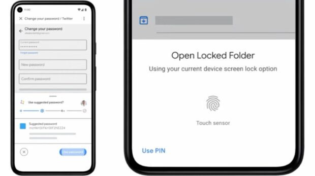 Android Password Manager and Locked folders