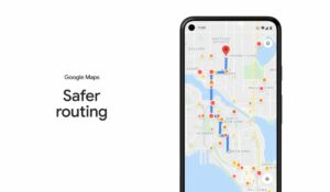Google Maps Safer routing