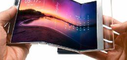 Samsung présente de nouveaux écrans pliables et enroulables