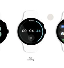 This is what Google Wear, the new mobile operating system for smart watches, looks like