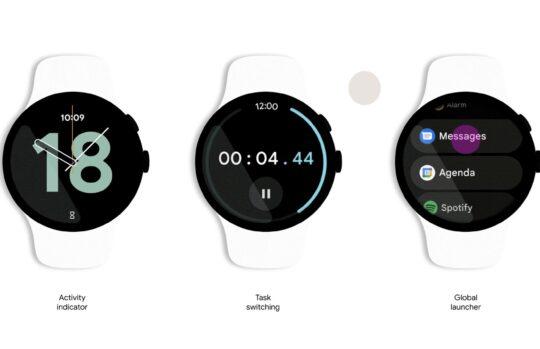 Voici à quoi ressemble Google Wear, le nouveau système d'exploitation mobile pour montres intelligentes.
