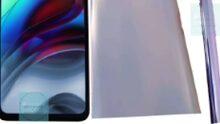 Familiar looking Motorola Nio pops up, possibly the 'edge S'