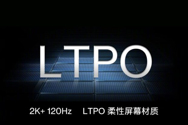 LTPO panel from OnePlus