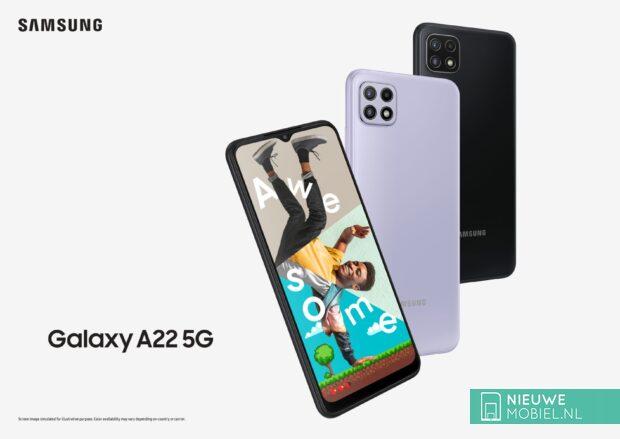 Samsung Galaxy A22 5G poster