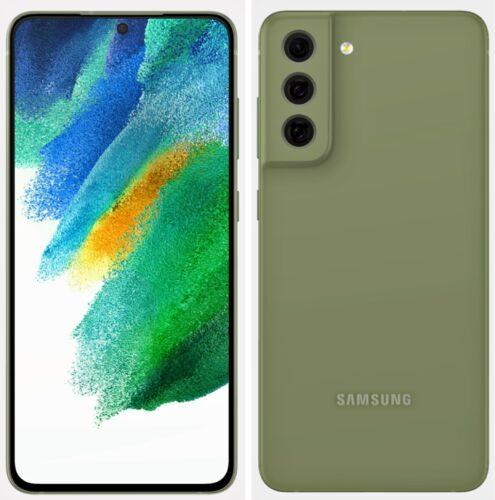 Samsung Galaxy S21 FE render in Green
