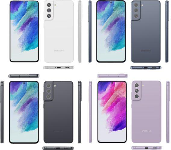 Samsung Galaxy S21 FE colors