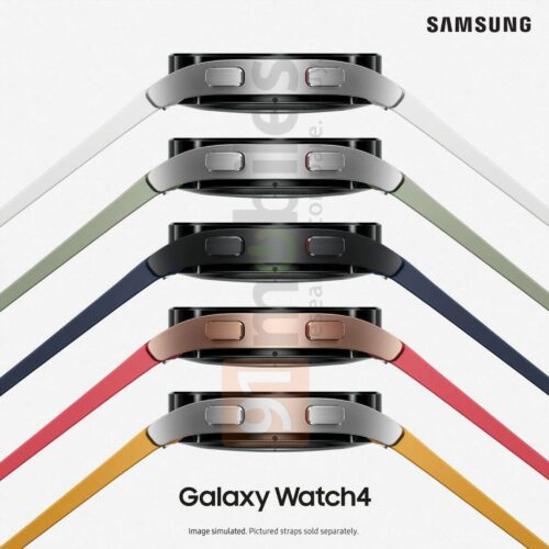 Samsung Galaxy Watch4 different colors