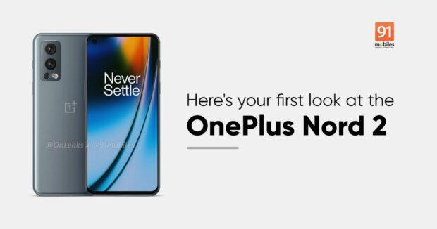 OnePlus Nord 2 render