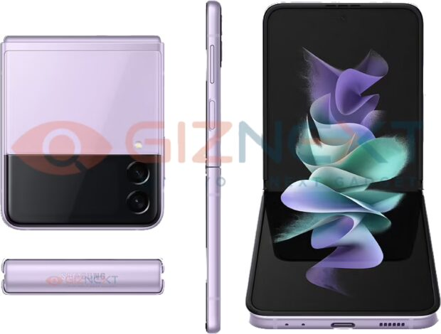 Samsung Galaxy Z Flip 3 in Purple