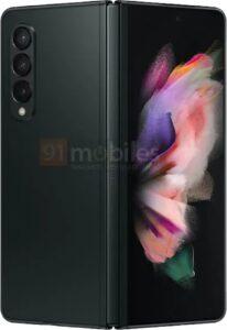 Samsung Galaxy Z Fold rear in Black
