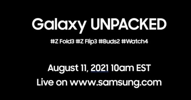 Galaxy Unpacked August 11th