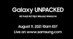 Samsung bevestigt: Galaxy Z Fold 3, Flip 3, Buds 2 en Watch4 komen 11 augustus
