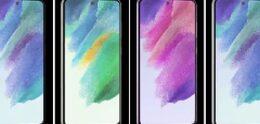 Bewegende renders tonen Samsung Galaxy S21 FE