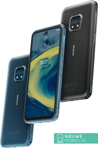 Nokia XR20 in Ultra Blue and Granite Gray