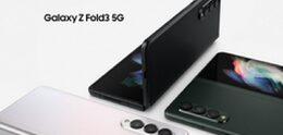 Samsung presenta el Galaxy Z Fold 3 resistente al agua y compatible con el S Pen