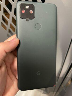 Google Pixel 5a rear