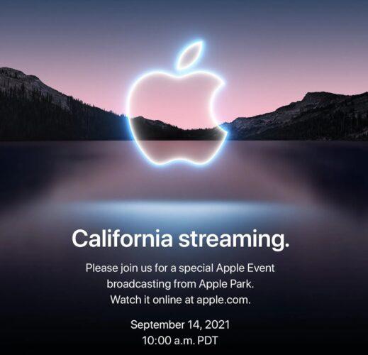 Apple keynote September 14th