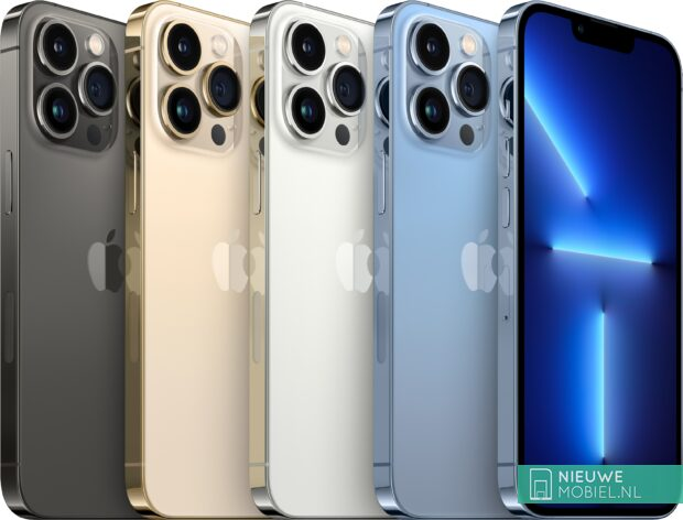 Apple iPhone 13 Pro colors lineup
