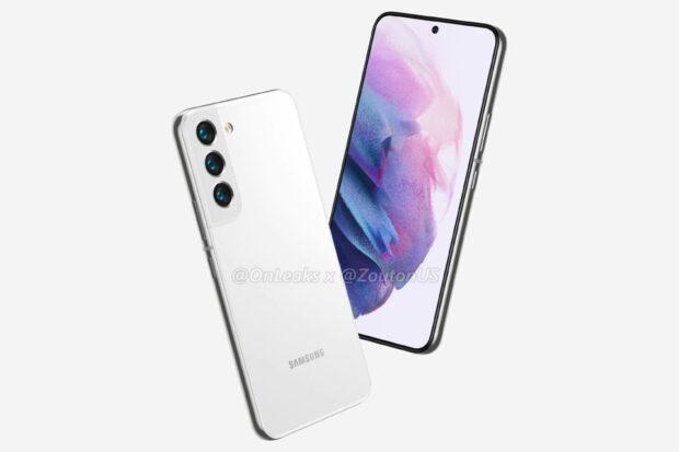 Samsung Galaxy S22 in White
