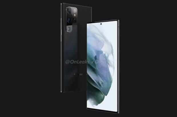 Samsung Galaxy S22 Ultra in Black