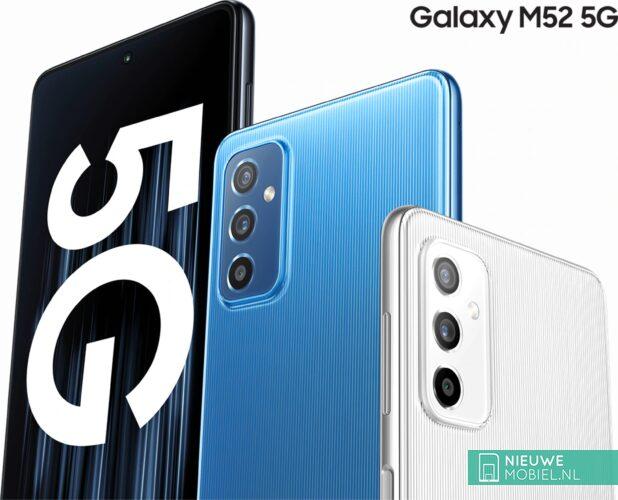 Samsung Galaxy M52 5G promotion