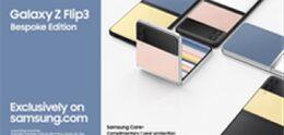 Samsung Galaxy Z Flip 3 Bespoke Edition aangekondigd