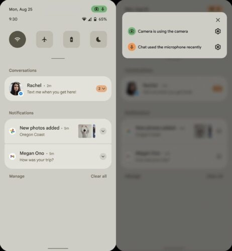 Android 12 sensor permissions