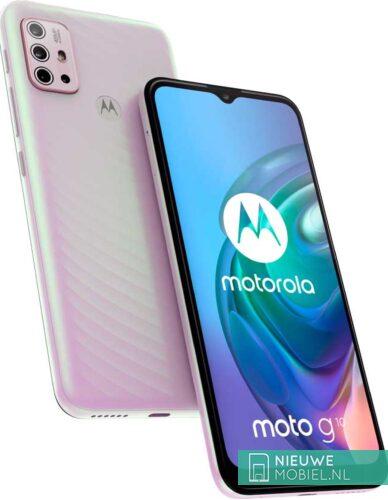 Motorola Moto G10 in Iridescent Pearl