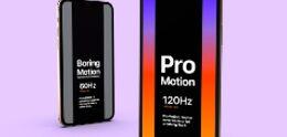 Apple-patent wijst op iPhone 13 met snel 120Hz scherm